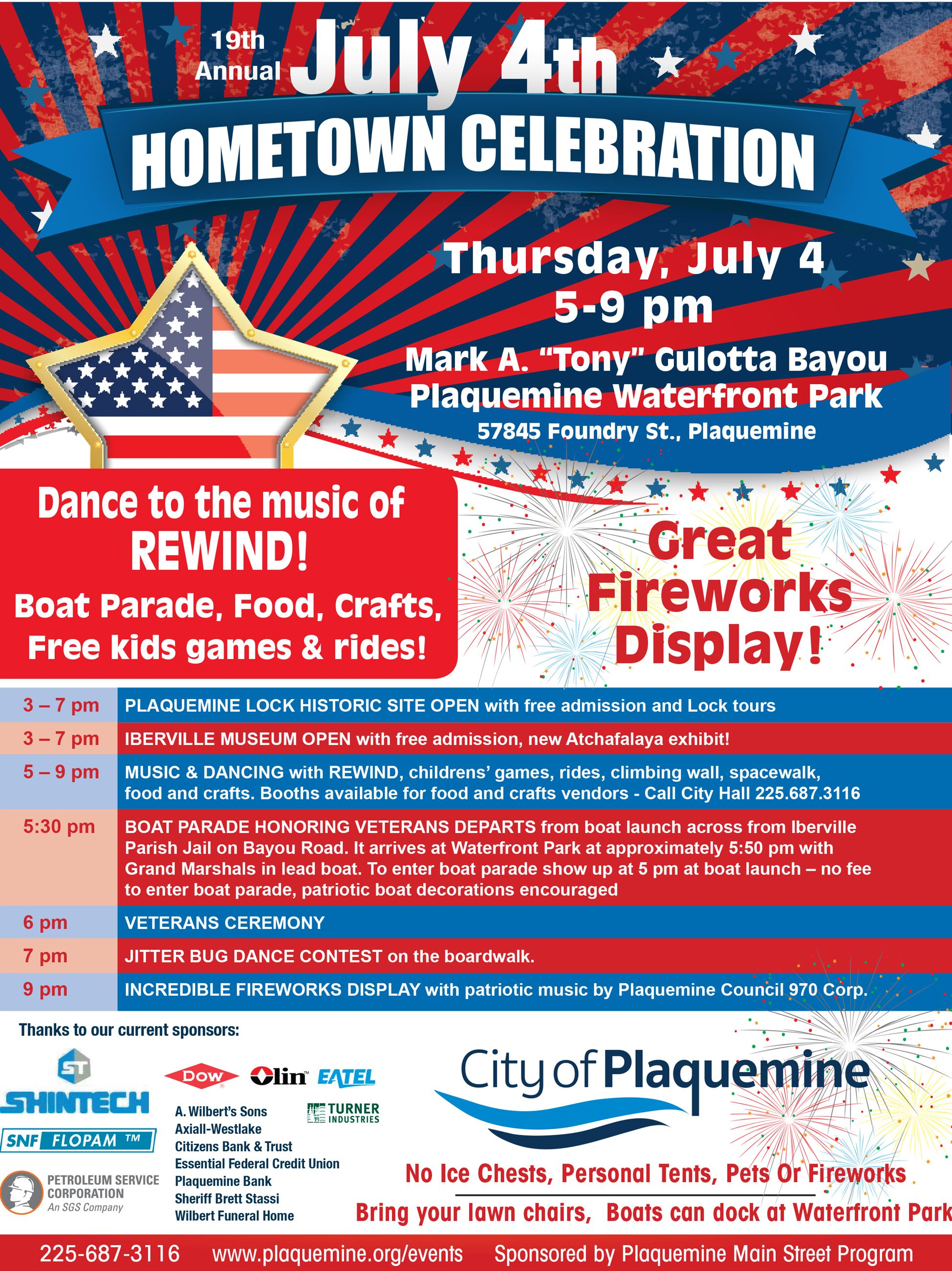July 4th flyer 2019